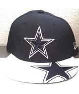 Dallas Cowboys New Era 9 FIFTY Snapback Cap, Blue/White Cowboys Cap NFL,... - $17.77