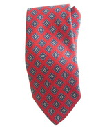 Mens Neck Tie By Robert Talbott Red Diamond 55 to 56 Inch Necktie Hand S... - $11.95