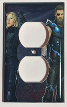 Infinity war Thor Black Widow Switch Power Outlet Wall Cover Plate Home Decor image 2