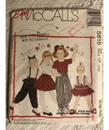 McCall's 5615 Pattern Girls size 4,5,6 Jumping Beans Pattern  - $15.00
