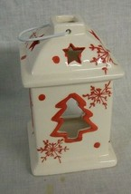 NEW CHRISTMAS Tree Votive Lantern Candle Holder TII Collections - £9.75 GBP