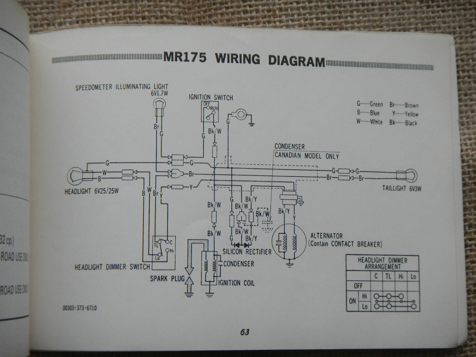 1974 Honda Cb125 Wiring Diagram Schematic Diagrams 72 Cb175 Diy U2022 Cl 125 Scrambler