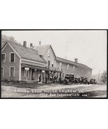 Canaan, Vermont Pre-1920 RPPC Line House & Speakeasy Prohibition Rum Run - $49.75