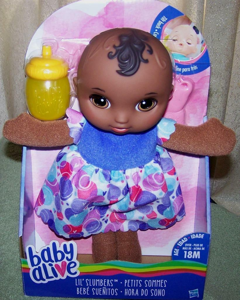 Primary image for Baby Alive Lil' Slumbers AA Baby Doll 11'H New