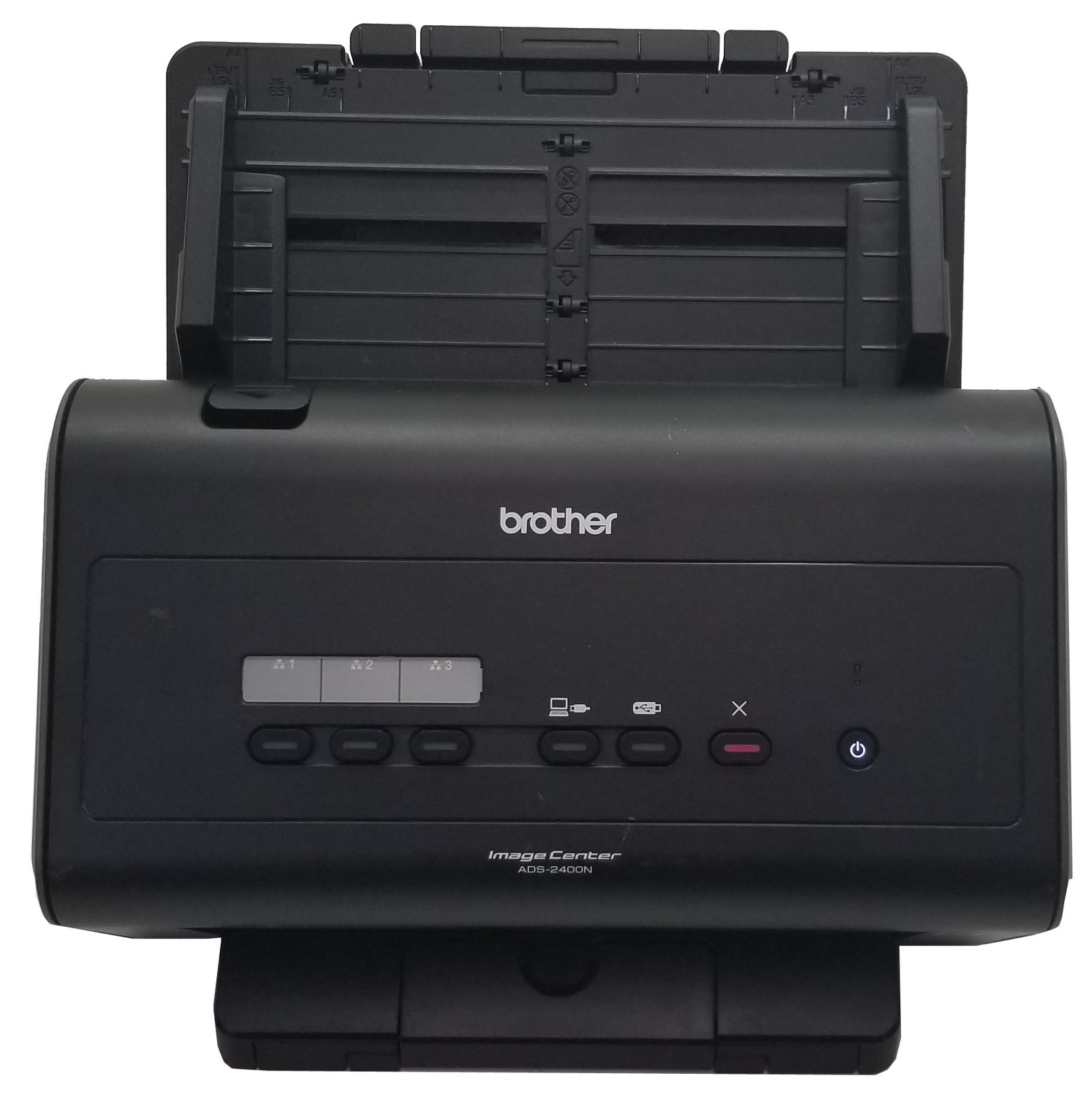 Brother ImageCenter ADS-2400N Color Duplex Scanner Bin: 2