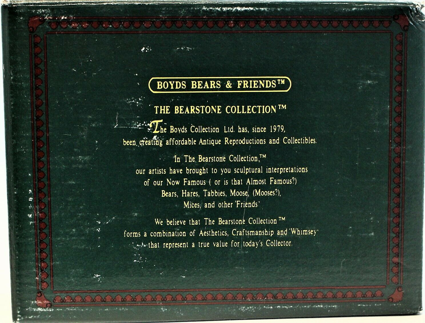 Boyd's Bearstone Collection Above The Clouds Ornament Stand Resin Star 1997 image 10