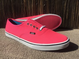 Vans Neon Pink Women's Lace Up Flats Shoes Size 11 (9UK 43EUR) - $38.33