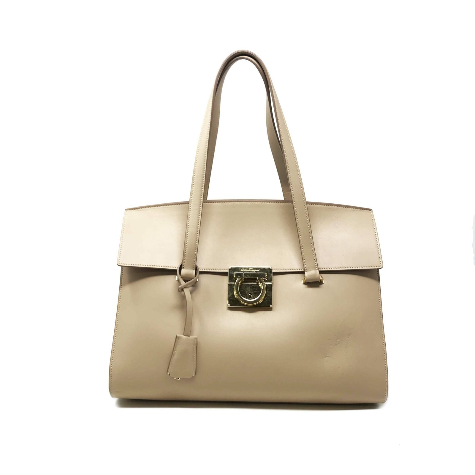 Primary image for Salvatore Ferragamo 21F818 'MARA' Leather Shoulder Women's Bag