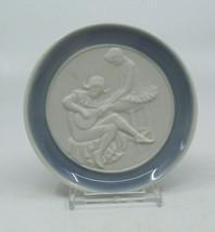 Lladro Spain Porcelain Mini Small Collectible Plate Dish Ballerina Musician - $37.91