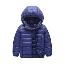 Girls Winter Coat Fashion Winter Jackets Boys Parkas for Girl Hooded Zip... - $32.29