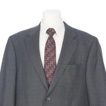 Lauren Ralph Lauren Gray Herringbone Wool 2-Button Sport Coat Mens 48L 4... - $39.52