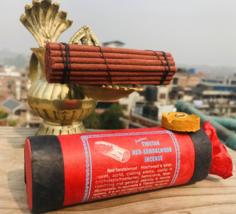 Red Sandalwood Ancient Tibetan Incense Sticks ,NEPAL - $6.24