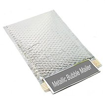 Metallic Glamour Bubble Mailers Padded Shipping Mailing Envelopes Bags S... - $84.33