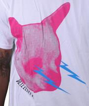 WeSC Uomo We Are Superlative Conspiracy Bianco Rosa Cane Bzzzt Tuono T-Shirt Nwt image 2