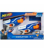 Nerf N-Strike Elite Disruptor 6 Dart Rapid Fire Nerf Gun Blaster Shoots 90 ft - $35.49