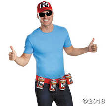 Disguise Men's Duffman Costume Kit, Multi, One Size  - $27.48