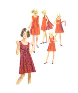 Vintage Simplicity Sewing Pattern 8125 Misses Reversible Dress Front Wra... - $19.95