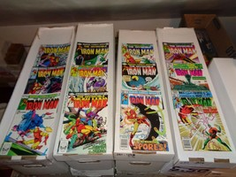 Iron Man #154-165 1982 Complete Run Of VF Condition Marvel Comic Book Lo... - $34.57