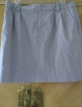 Gap gray cotton blend mini skirt size 6 length 17inches - $8.91