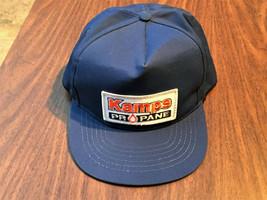 Vintage Kamps Propane Trucker Hat Cap w/ Patch - L, Snapback - Riverside... - $23.99