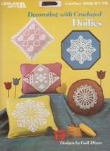 "Leisure Arts ""Decorating With Crocheted Doilies"" Thread Crochet - Gently... - $3.00"
