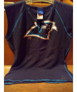 Women's NFL Carolina Panthers Football  T Shirt Preowned  - $10.00