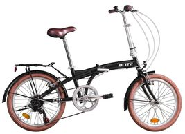 Bike Rassine - City Hi-Ten Steel Manual Bicycle with Folding Bike Frame New - $243.00