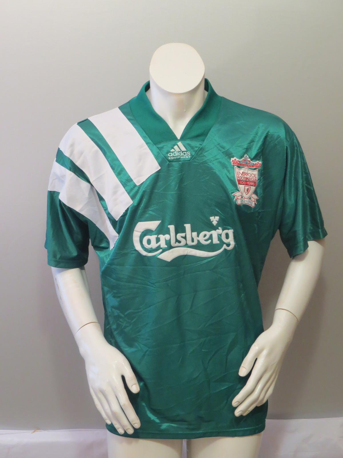 cheap for discount 0b982 c2113 Vintage Liverpool FC Soccer Jersey - 1992 and 19 similar items