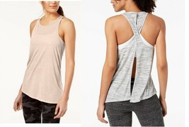 Calvin Klein Performance Crossover-Back Asymmetrical Tank Top, MSRP $28 - $14.24