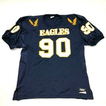 VINTAGE Bike Athletic Eagles Football Jersey Size Extra Large Blue Yello... - $27.33