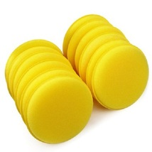 300 Pack - New Car Waxing Hand Soft Cleaning Sponge - Yellow - $98.22