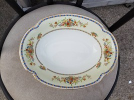 2 SERVING BOWLS   in Victoria (Floral Basket) by Johnson Brothers - $41.68