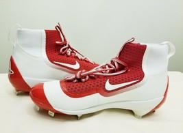 Nike Huarache 2K Filth Men's Metal Baseball Cleat Red White(749359-610) - $39.99