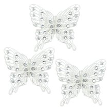 Decorative Christmas Ornaments, Rustic Butterfly Christmas Ornaments Out... - $29.99