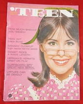 VINTAGE 1966~ 'TEEN MAGAZINE~VOL.10,  NO. 1~HOW MUCH SHOULD I WEIGH? GID... - $10.88