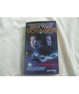 Star Trek Voyager #4 Violations Softcover Paperback Book - $3.94