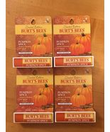 4 Burts Bees Limited Edition Pumpkin Spice Moisturizing Lip Balm Chapstick - $18.99