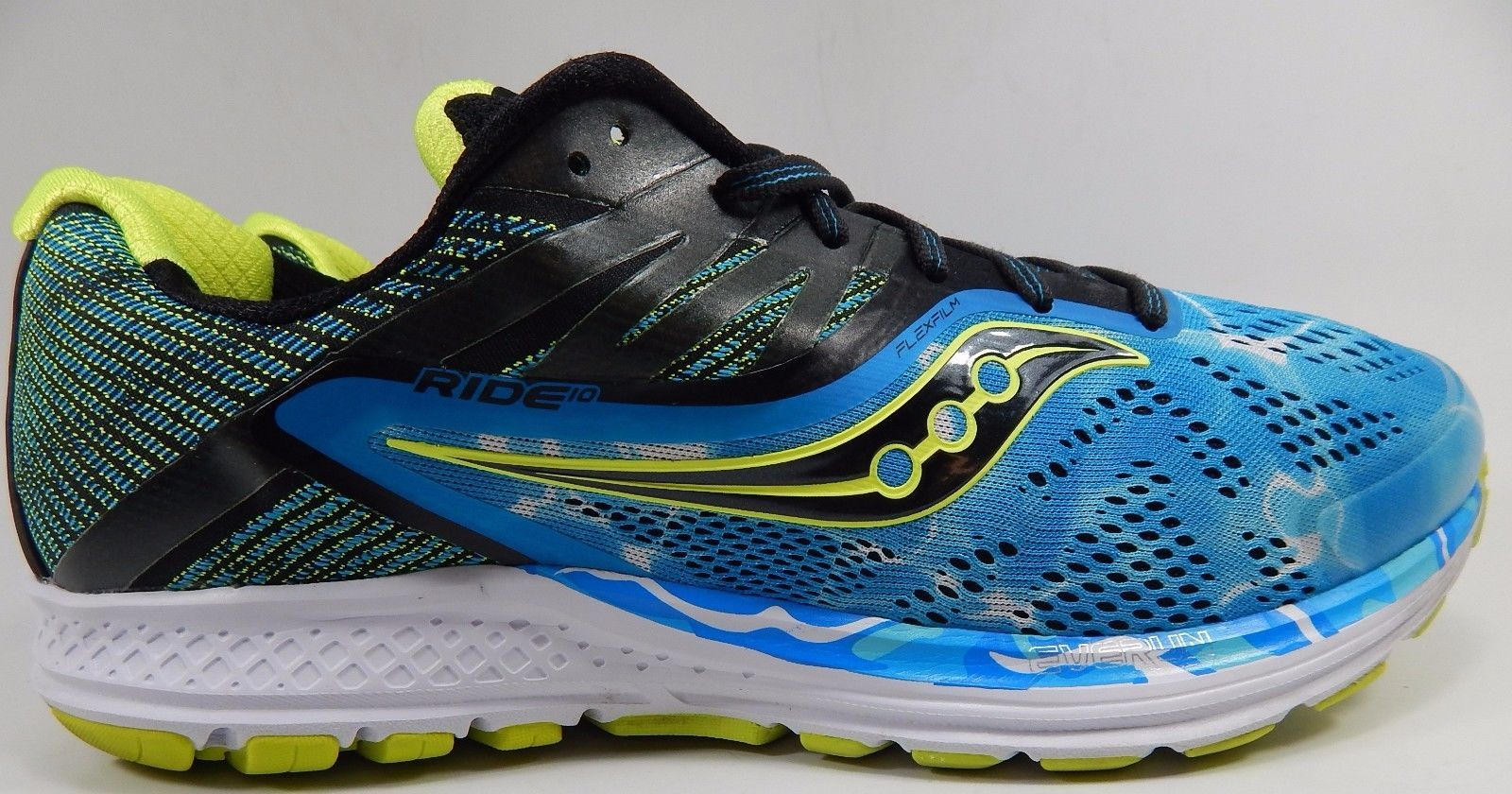 Saucony Ride 10 Endless Summer Ocean Wave Men's Shoes Size US 10 M (D) EU 44