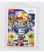Nintendo Wii Hot Wheels Battle Force 5 Jeux Vidéo - $14.84
