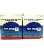 Red Star Active Dry Yeast 2 x 1 lb. Bricks, 2 lbs. Total - $13.99