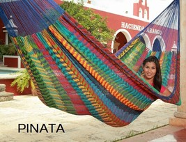 Mexican Thick Cord Hammock - Handwoven - Free Shipping USA Wide - $135.00
