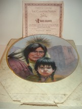 1987 Vague Shadows Gregory Perillo The Cheyenne Nation Plate w/ COA and Box - $14.99