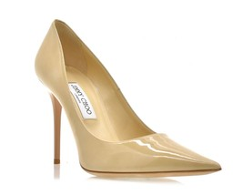 Jimmy Choo Abel Pumps Nude Size 10.5 New - $283.50