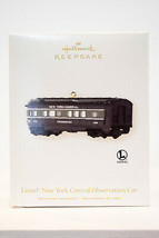 Hallmark: Lionel New York Central Observation Car - 2008 - Keepsake Ornament - $14.53