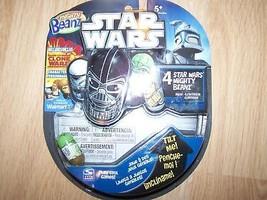 4 Disney Star Wars Mighty Beanz Yoda ASAJJ IG-88 Admiral Ackbar New - $12.00