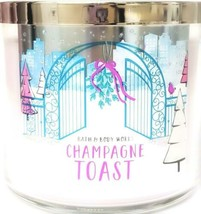 Bath and Body Works Champagne Toast 3 Wick Candle 14.5 oz. Star Lid 14.5... - £18.54 GBP