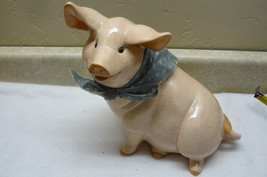 Animal Pig with Scarf #BF - $4.99