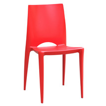 Fine Mod Imports Square Dining Chair, Red - $85.00
