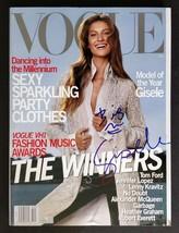 Gisele Signed 1999 Vogue Magazine - COA Signatures.com - $84.99