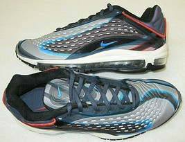 Nike Mens Air Max Deluxe Running Training Shoes Thunder Photo Blue Size ... - $94.04